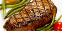 Perfect recipe for apartment dwellers... Foreman Grill New York Strip Steak! Very easy to make and loaded with flavor. Give this one a try. It's too easy to pass up!