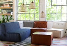 Quadrant soft from Koskela, love the fabric options...