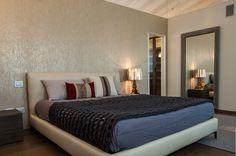 Camera padronale di residenza privata | Armonia Interni Srl