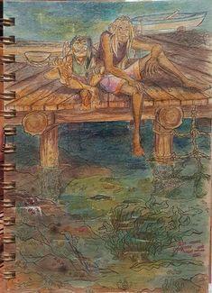Customer Feature - Erin Stevenson Copic Markers, Gel Pens, Art Journals, Deer, My Photos, Studio, Drawings, Illustration, Happy