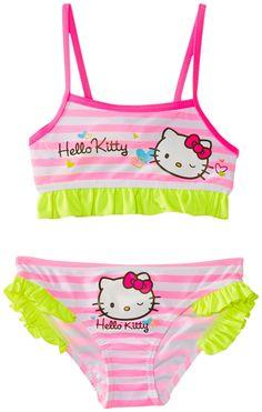 84a1de6906 Old Navy Hello Kitty Swimsuit   Aralynns style (:   Girls bathing ...