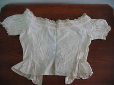 Mid 1800's Civil War Era Amazing Chemise True Vintage So RARE to Still Exist | eBay