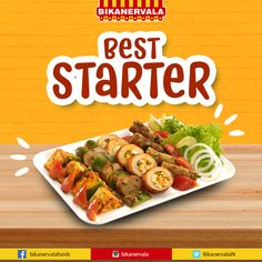 Best Starters, Paneer Tikka, Appetizers, Indian Food Recipes, Graphic Design, Ideas, Appetizer, Indian Recipes, Entrees