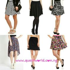 #skirt #highlow #skater www.questworld.com.ng Nationwide Delivery Pay on delivery-Lagos