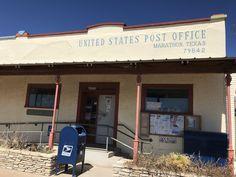 Post Office, Marathon, Texas, United States, The Unit, Outdoor Decor, Home Decor, Decoration Home, Room Decor