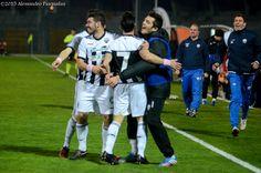 L'esultanza dopo il terzo gol, visita la gallery completa su http://www.ascolilive.it/?p=17347