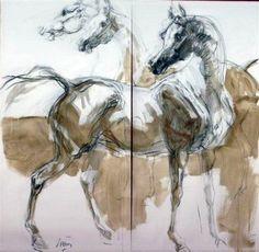Horse Drawings, Art Drawings, Horse Sketch, Mediums Of Art, Horse Artwork, Horse Silhouette, Illustration Art Drawing, Indigenous Art, Equine Art