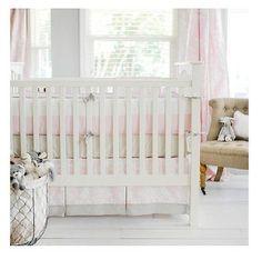 New Arrivals 3 Piece Bedding Set Cross My Heart Pink Damask MRSP $536