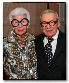 Iris & Carl Apfel