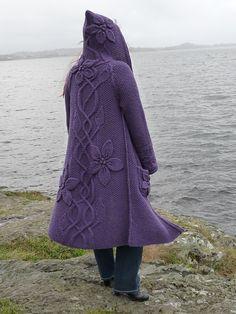 I like it in purple, very pretty..