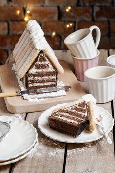 Candy Cakes, Cupcake Cakes, Cupcakes, Housewarming Cake, Baking Recipes, Cake Recipes, Winter Torte, Xmas Desserts, Sweet Cooking