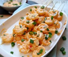 Skinny spicy shrimp, the perfect appetizer! The Cookie Rookie Skinny Bang Bang Shrimp! Skinny spicy shrimp, the perfect appetizer! Think Food, I Love Food, Good Food, Yummy Food, Tasty, Fish Recipes, Seafood Recipes, Cooking Recipes, Recipies