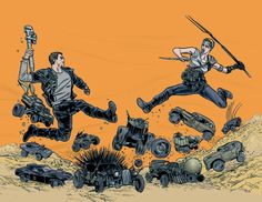 Mad Max Allred style