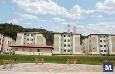 """BRAZIL In the city of Brusque, two housing projects were built through the """"Minha Casa Minha Vida"""" Program, for low income families in different and distant points. It is a Program financed by the Federal Government in partnership with the Municipality. In all, 656 houses were built. The people who came to occupy these houses are mostly from other states of the country, in search of employment opportunities in the city of Brusque."""