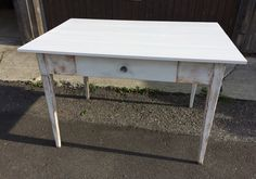 """Tisch """"Shabby chic"""" Nightstand, Shabby Chic, Table, Furniture, Home Decor, Homemade Home Decor, Bedside Desk, Night Stand, Tables"""