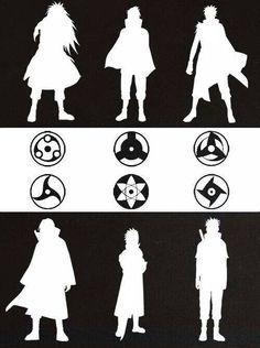 Madras, Izuna, Obito, Itachi, Sasuke, and last but definitely not least Shisui :3