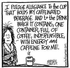 Cup of Coffee Pledge