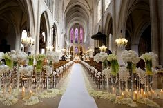 contemporary decoration church wedding ceremony decoration ideas church altar decoration for - 18 Brilliant Ways To Advertise Small Wedding Ceremony Church Wedding Ceremony Ideas, Church Wedding Decorations Aisle, Church Ceremony, Wedding Church, Church Aisle, Altar Wedding, Paris Wedding, Church Weddings, Wedding Entrance