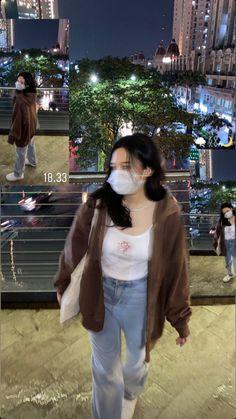 Aesthetic Girl, Girl Pictures, Girlfriends, Rain, Korean, Icons, Female, Womens Fashion, Casual
