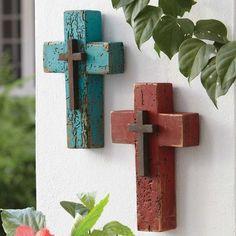 Wooden Double Cross | King Ranch