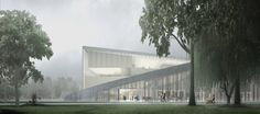 The new National Gallery and Ludwig Museum, Liget Budapest. :: Henning Larsen…