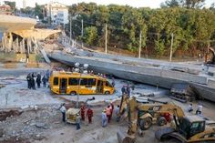 Collapsed overpass in Belo Horizonte built for the needs of the World Cup | enko-football