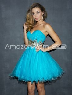 Princess Sweetheart Sleeveless Natural Zipper Prom Dresses/Homecoming Dresses