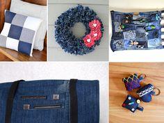 Se pregunta qué puede hacer con su viejo par de jeans? En lugar de tirarlas a la basura, eche un vistazo a esta colección y que usted encontrará aquí algun