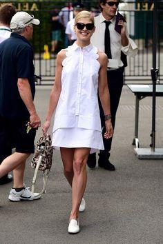 Самые хорошо одетые гости на чемпионате Уимблдон | Мода | Выход в свет | VOGUE