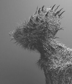 Istanbul-based artist Can Pekdemir combines sculpture, photographs, and 3D to create these mysterious figures. More images below.        Can Pekdemir's Website Can Pekdemir on Facebook Can Pekdemir on Instagram