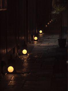Kyoto Japan 満月行灯
