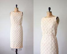 Lacy 60s-style shift dress