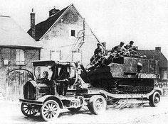 WW1 Tank Transporter.