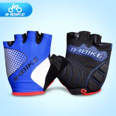 INBIKE Bicycle Gloves Half Finger Cycling Gloves Outdoor Sports Accessories Mountain Road Sports Gloves For Men Gants Cyclisme #Affiliate