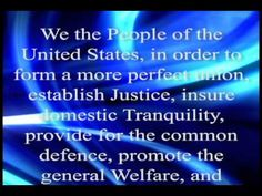 ▶ Preamble to the United States Constitution - YouTube