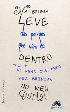 """Hoje (31/01) na #FestadaLuz em Guarabira- PB BRASIL, Alceu Valença!!!!  """"tu vens, tu vens, eu já escuto os teus sinais"""""""