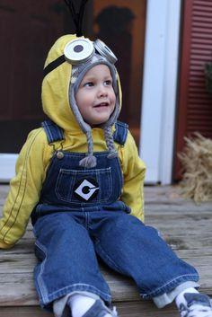 Homemade Minion Halloween Costume