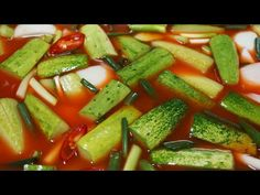 Cooking Tips, Cooking Recipes, Kimchi, Fruit Salad, Green Beans, Food And Drink, Vegetables, Fruit Salads, Chef Recipes