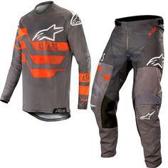 NEW Alpinestars 2019 MX Supertech MXoN Red Bud Jersey Pants Motocross Gear Set
