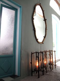 irregular hiver mirror