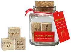 Sale Preis: Dieses Geschenk bietet über 45.000 erstaunlich leckere Pastarezepte. Wie kann das sein? PASTA CUBES. Gutscheine & Coole Geschenke für Frauen, Männer und Freunde. Kaufen bei http://coolegeschenkideen.de/dieses-geschenk-bietet-ueber-45-000-erstaunlich-leckere-pastarezepte-wie-kann-das-sein-pasta-cubes