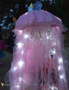 Stunning Homemade Jellyfish Costume