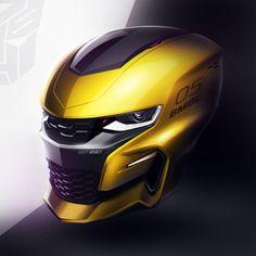 Robert Kovacs — Bumblebee Helmet