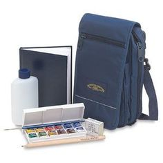 WN watercolor travel set  This would be good to take along in the motor home for those artistic moments!