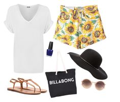 """""""Untitled"""" by lover-of-pie ❤ liked on Polyvore featuring WearAll, Yves Saint Laurent, Linda Farrow, Charlotte Russe, Billabong and OPI"""