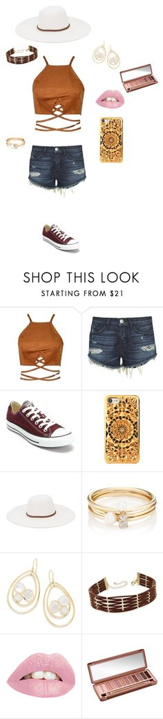 """""""1st Day of Senior Year"""" by riatachey on Polyvore featuring 3x1, Converse, Felony Case, Physician Endorsed, Loren Stewart, Ippolita, INC International Concepts and Urban Decay"""