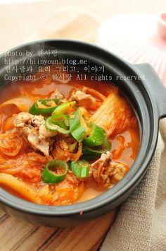 #백종원 김치찌개 맛있게 끓이는법~ : 네이버 블로그