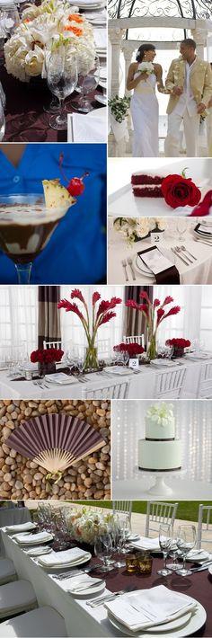 WeddingMoons' New Valentine's Day Wedding Palettes | Sandals Wedding Blog