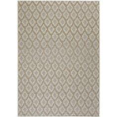 texture but simple color area rug idea