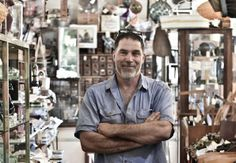Ross Heaths Creator and owner of www.heathsoldwares.com.au Heaths Old Wares, Collectables Antiques and Industrial Antiques. 19-21 Broadway, Burringbar NSW Open 7 days 9am - 5pm phone 0266771181 pic taken by keira Pendergast Common Ground BYron Bay